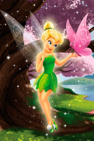 Tinkerbell   wallpapers   Pinterest   Disney, Campanilla y Matrículas