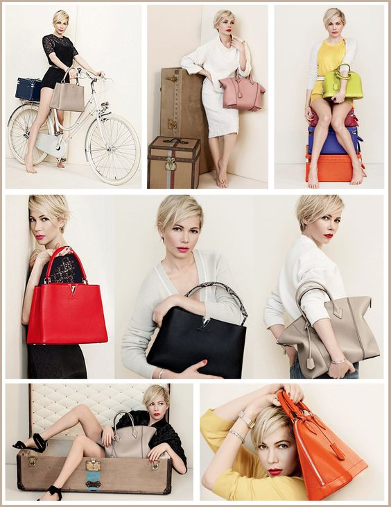 Die for Style: Michelle Williams for Louis Vuitton!
