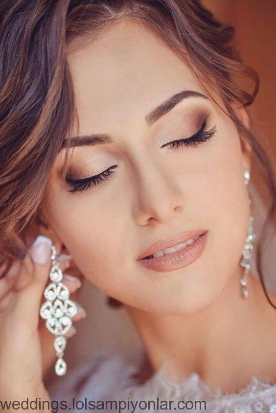 36 Attraktive Hochzeits Make Up Looks Wedding Blonde Haare Make Up Make Up Braut Makeup Hochzeit