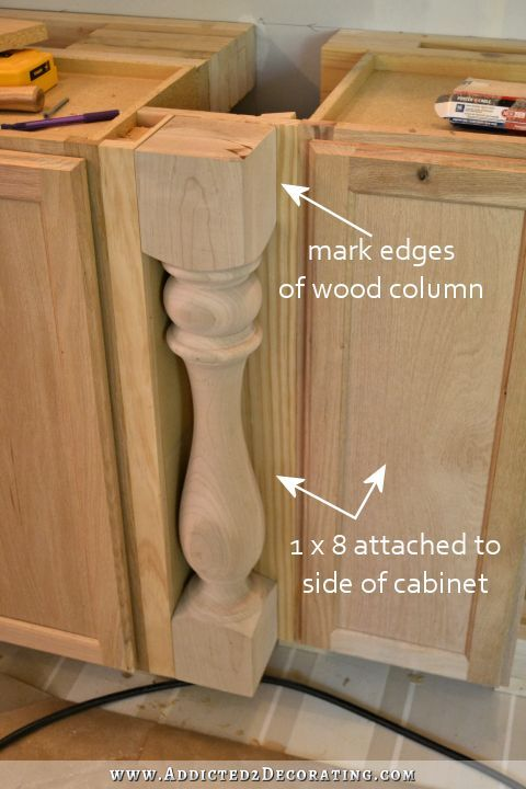Wall Of Cabinets Installed Plus How To Install Upper Cabinets By Yourself Addicted 2 Decorating Installing Cabinets Cabinet Upper Cabinets