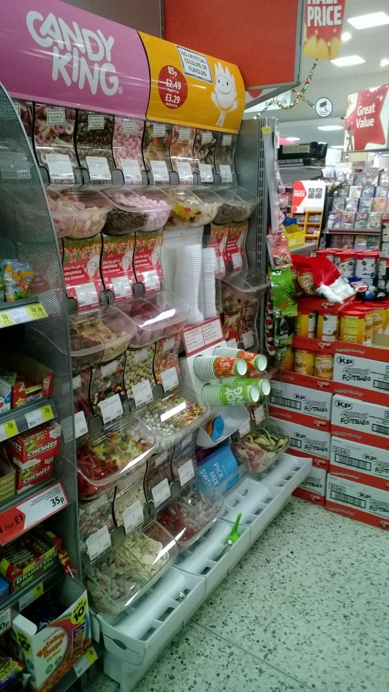 Pick and Mix at Morrisons.