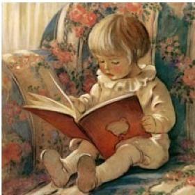 Enfant en train de lire