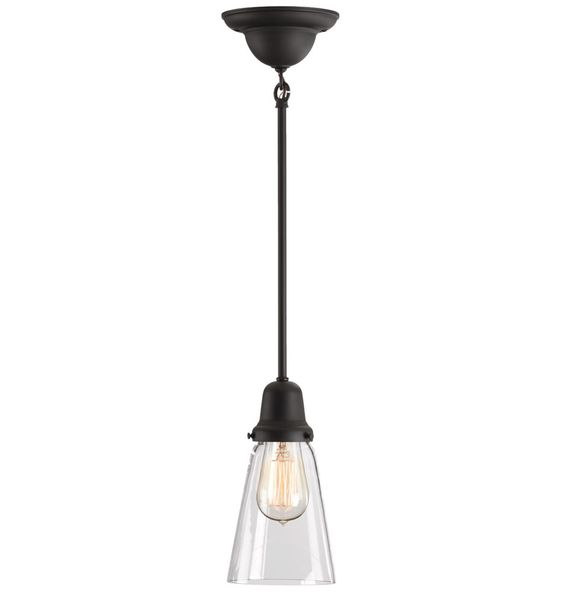 Inexpensive Lighting Options Brightwood Classic Single-Pole Pendant A4865