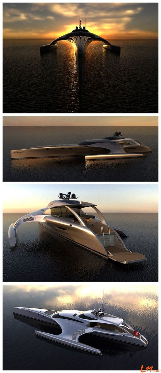 5 Super Yachts That Will Blow Your Mind! This mega yacht is a billionaire pleasure palace. #luxury