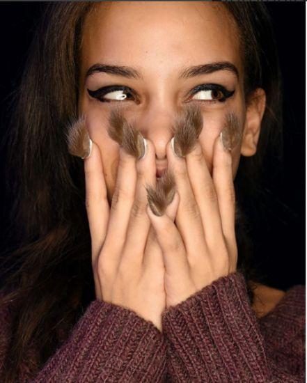 furry nails.......: