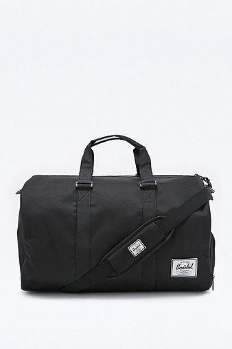 Herschel Supply co. Novel Duffle Bag in Black #dufflebag #covetme #herschelsupplyco.