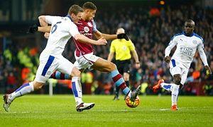 Aston Villa 1-1 Leicester City: Rudy Gestede
