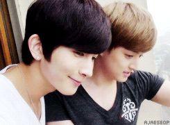Kiseop and Eli