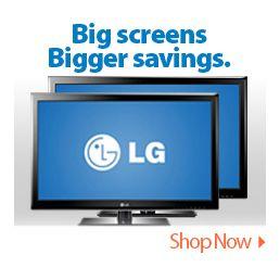 Big screens Bigger savings.