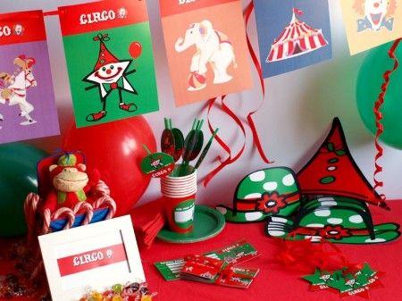 Caja tem tica del circo todo lo que necesitas para la - Todo para tu fiesta infantil ...