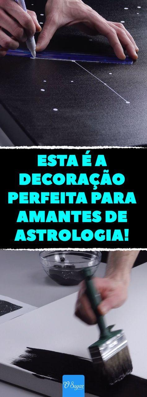 Diy e astrologia: decoração com lâmpadas LED com as constelações do seu mapa astral. #astrologia #decoração #design #diy #estrelas #futuro #lâmpadasled #mapaastral