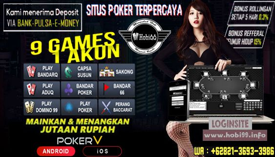 Hobiqq Poker Bandar Agen