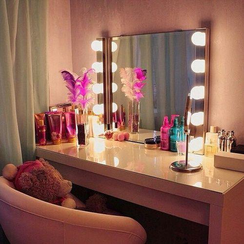 Make up raum dekor, kosmetikräume and jugendzimmer on pinterest