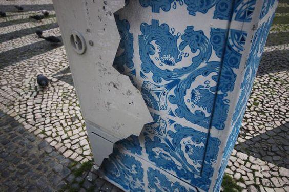 Artista Recria Construções Antigas com Tijolo Português