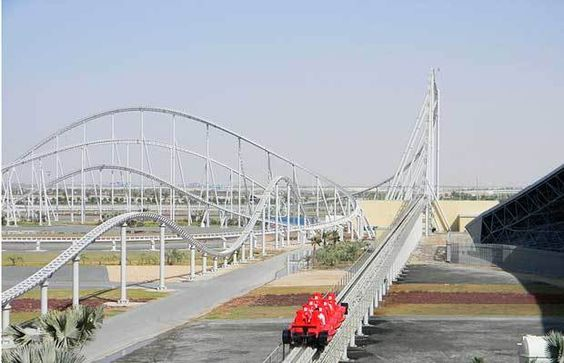 Formula Rossa - The 10 Fastest Roller Coasters in the World   Complex