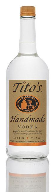 Tito liter by Tito's Vodka, via Flickr