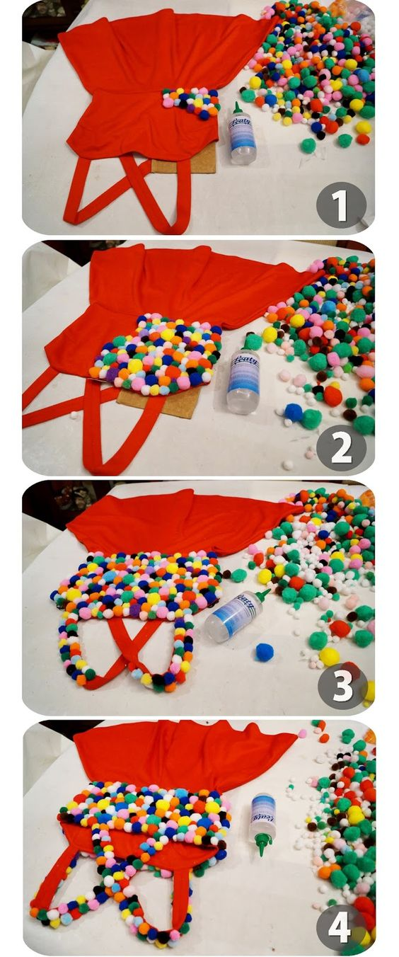 How to make a Gumball Machine Costume -- Click through for full tutorial!:
