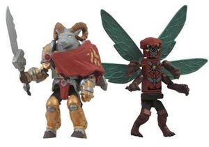 Midtown Comics Deal of the Day for 4/11/14: Battle Beasts Minimates 2-Pack SDCC 2012 Exclusives for 40% off.