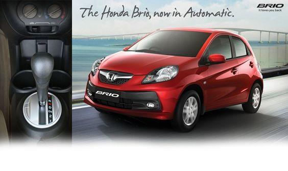 Honda brio automatic  http://autogadget46.blogspot.in/2012/10/honda-brio-automatic-launched.html