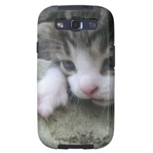 Mountaineer Kitten Samsung Galaxy SIII Cover