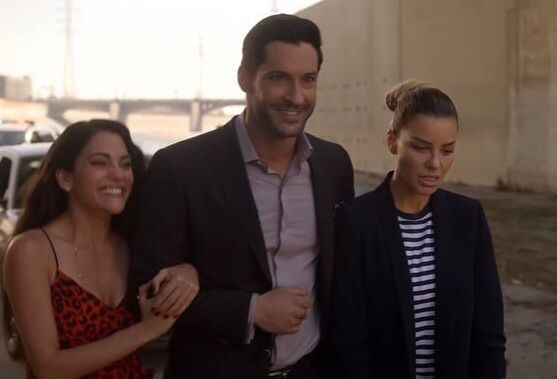 Eve Lucifer And Chloe Lucifer Lucifer Morningstar Tom Ellis