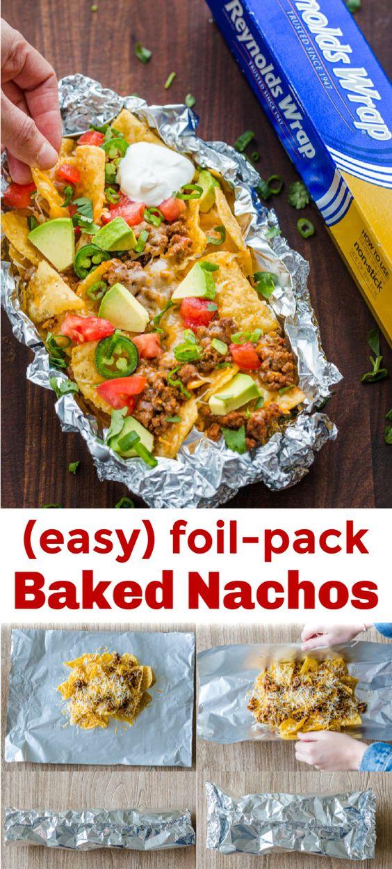 Foil-Pack Baked Nachos