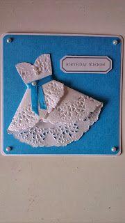 Created by Sheila: Jurkjes gemaakt van papieren onderzetters