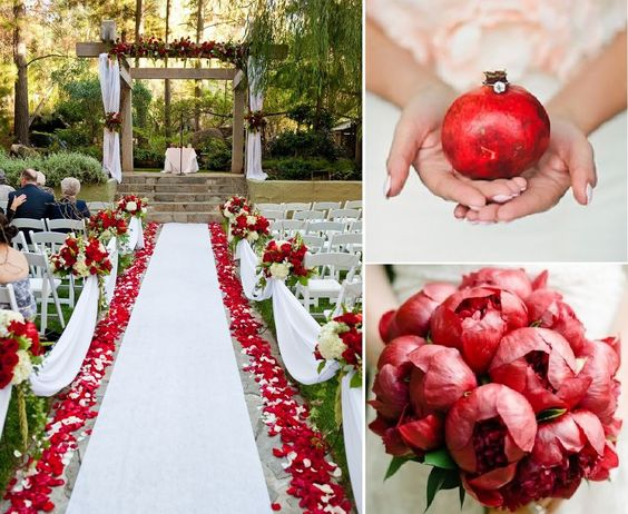 Wedding inspiration | Matrimonio a tema melagrano