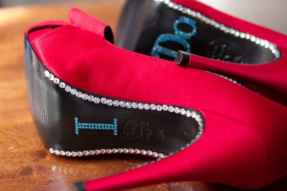 BLING!!! Red, Shoes