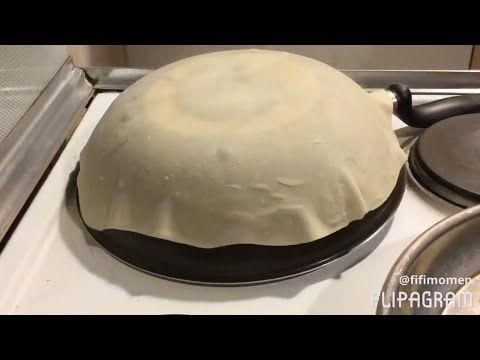 طريقة عمل خبز الصاج بطريقة سهلة في البيت وأروع من الجاهز Saj Bread تعليم الطبخ للمبتدئات Youtube Food Arabic Food Desserts