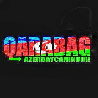 Qarabag Azerbaycanindir Azerbaijan Flag Azerbaijan Neon Signs