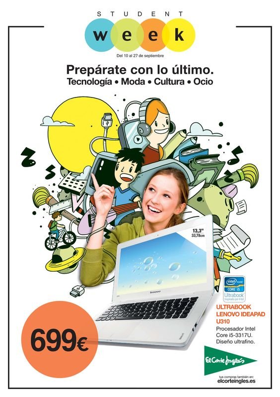Student Week en El Corte Inglés, http://www.ofertia.com/tiendas/el-corte-ingles