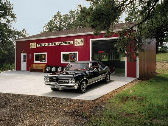 Premier garage 30x40 by tuff shed storage buildings for 30x40 shop plans