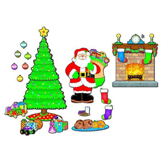 BB SET CHRISTMAS SCENE