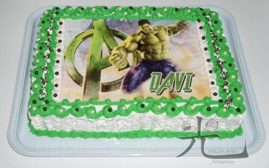 Bolo Do Hulk 55 Modelos Para Impressionar Todos Os Convidados