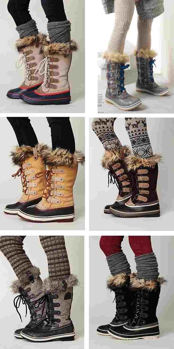 Winter Fashion: Footwear Essentials | Snow, Furry boots and ...