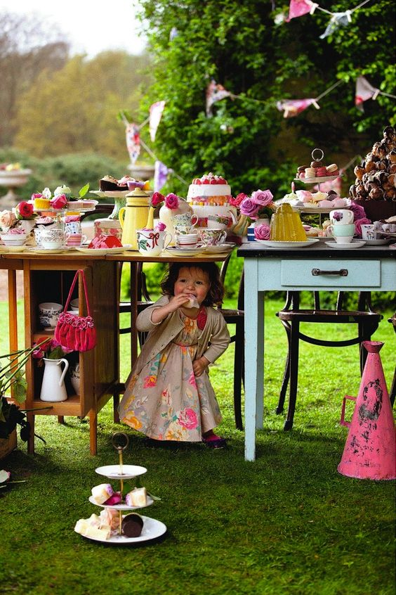 Tea parties, Teas and Parties on Pinterest