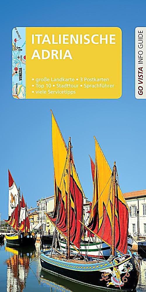 Go Vista Info Guide Reisefuhrer Italienische Adria M 1 Karte