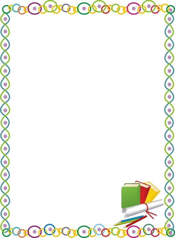 Bordes decorativos para ni os recursos cole pinterest for Sticker decorativos para ninos