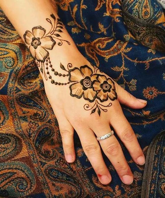 Traditional mehndi designs for beginners