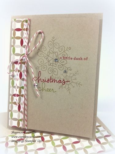 Another fabulous card made with the EndlessWishes set