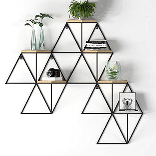 Qianda Wandregal Schweberegal Bucherregal Schwebe Bucherregal Qianda Schwebe Schwebend Schweberegal W Home Design Diy Wall Shelves Design Iron Decor