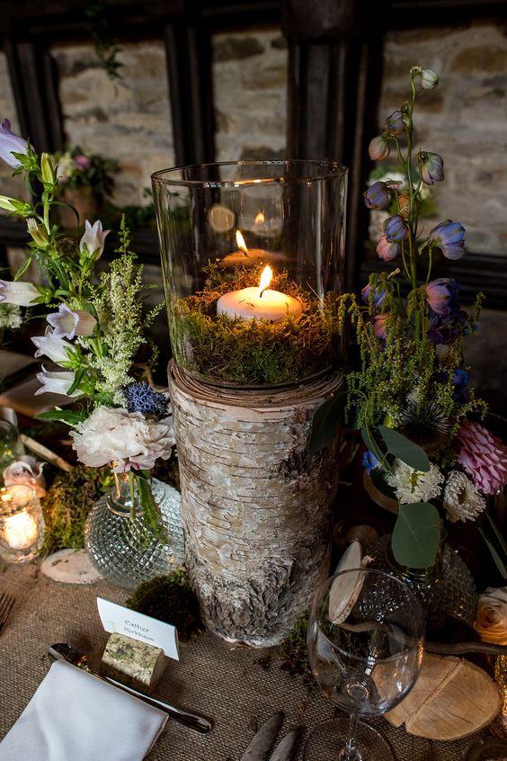 fairy tale enchanted woodland theme wedding
