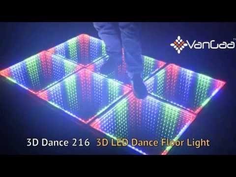 3d Dance 216 3d Led Dance Floor Light Effect Youtube Led Dance Dance Floor Lighting Led Floor Lights