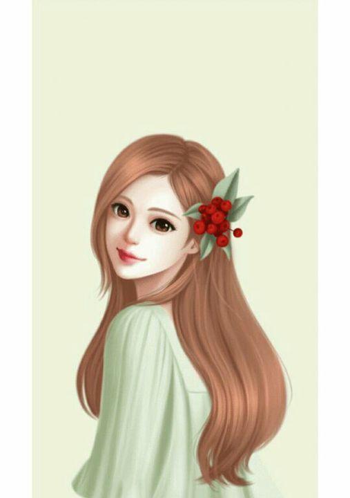 Wallpaper Cool Cover Cerita Wattpad Couple Ilustration 2 Anime Art Beautiful Lovely Girl Image Beautiful Girl Drawing