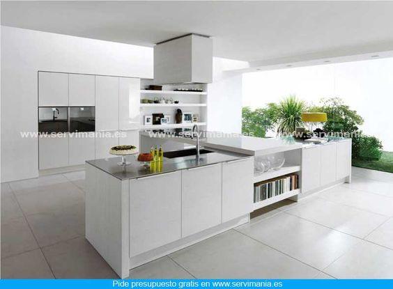 ¿Te gusta esta cocina? Visita http://www.servimania.es/ para pedir un presupuesto gratis.