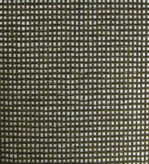 Sample Paper Weave Wallpaper in Black, Olive, and Silver from the - sample paper