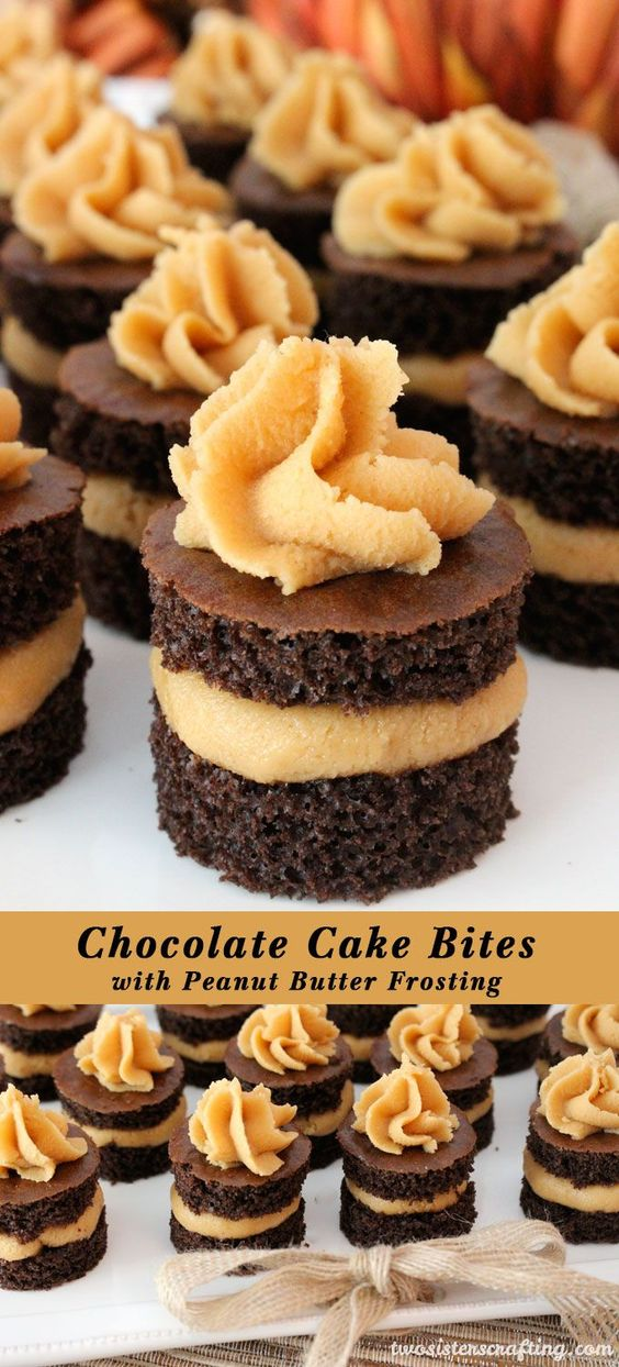 Peanut butter frosting, Butter and Great desserts on Pinterest