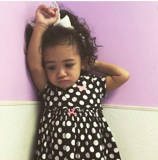 Royalty (Chris brown beautiful daughter)