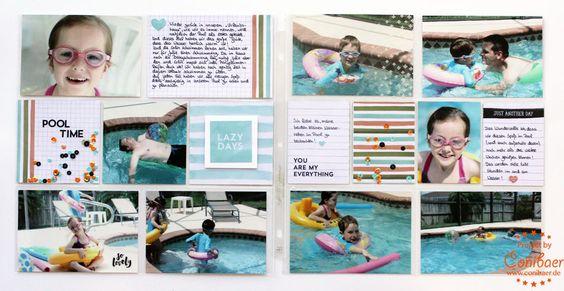{ Conibaers creative desk } Constanzes kreatives Blog: Project life